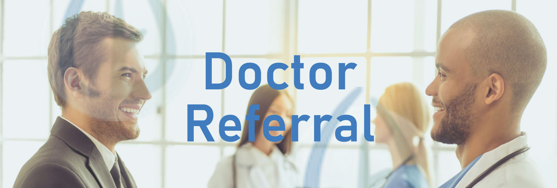 doctor referral banner